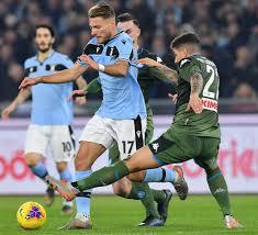 Napoli Lazio, dove vedere il match in TV e streaming