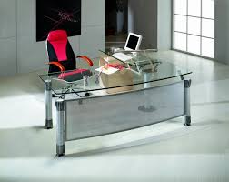 contemporary glass office. Office Table:Glass Top Executive Desk Uk Glass Computer Depot Italian Contemporary