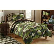 Military Bedroom Decor Mainstays Kids Camoflauge Coordinated Bed In A Bag Walmartcom