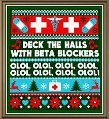My Medical Chart Olol Deck The Halls With Beta Blockers Olol Beta Blockers