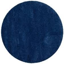 safavieh milan navy 3 ft x 3 ft round area rug