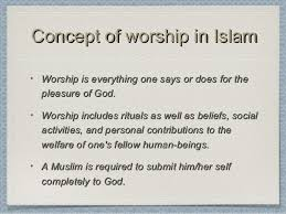 why does almighty god need people to worship him is there any why does god require worship