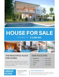 Home Flyers Template 008 House For Sale Flyer Template Real Estate Formidable