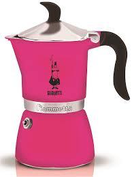 <b>Гейзерная кофеварка FIAMMETTA</b> FLUO FUCHSIA 3 порции ...