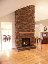 ideas on best corner fireplace stacked stone corner gas fireplace ideas on drystack stone