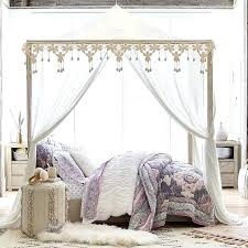 Canopy Bed Frame Queen Size Canopy Beds Full Size Of Bedroom White ...