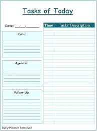 Microsoft Publisher Format Microsoft Daily Planner Daily Planner Printable Schedule