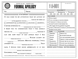 Apology Letter Template Articleezinedirectory