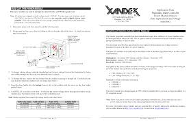 Application Note Pneumatic Inker Controller Power Module