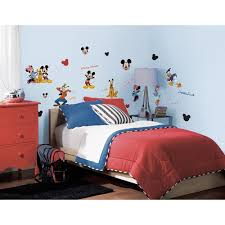 Mickey Mouse Bedroom Furniture Disney Mickey Mouse 32 New Wall Decals Room Decor Stickers Pluto