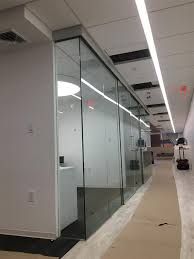 Glass office wall Home Commercial Glass Office Wall Dividers Brooklyn Space Plus Glass Wall Glass Office Partitions Divider Design Fabrication