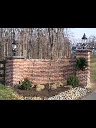Brick Entrance Designs Driveway Brick Driveway Entrance Driveway Entrance Landscaping