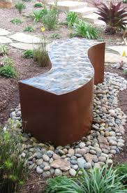 Cortenstahl Im Garten 57 Ideen Und Einsatzm Glichkeiten