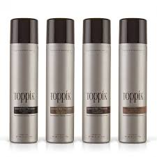 Toppik Color Chart Colored Hair Thickener
