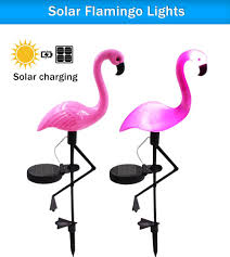 2019 Solar Lawn Light Flamingo Light Led Lantern Decorative Outdoor