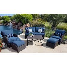 member s mark kingston outdoor patio deep seating set with premium sunbrella fabric 6 pc original 1599 00 sam s club 900