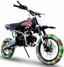 ex 125cc dirt bike model atd 125a