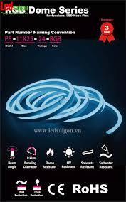 Nhà phân phối đèn LED dây Neon Flex 12v tại TPHCM