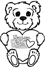 I Love You Coloring Pages To Print Cute I Love You G Pages Printable