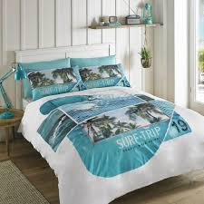 blue and white bedding unique hashtag offs patrol surf blue white single double duvet