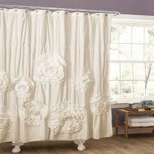 Lush Decor Lake Como Curtains Goldfish Shower Curtain
