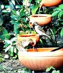 bird bath fountain diy hummingbird playground fountain hummingbird water fountain solar dragonfly bird bath metal red