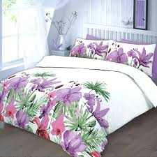 image of duvet cover fl purple super king size sets uk covers dunelm dimensions full