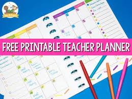 Teacher Weekly Planners Teacher Planner For Preschool Free Printable Pre K Pages