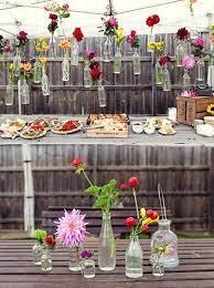 budget friendly decor garden party