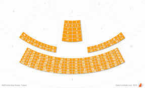 Midflorida Credit Union Amphitheatre Seating Chart With Seat Numbers Symbolic Coral Sky Seating Mid Florida Amphitheater Lawn