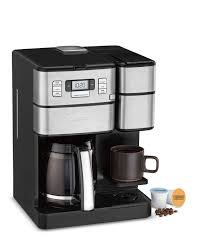 Get the review cuisinart automatic the machine looks like an automatic drip coffee maker , with a water reservoir and reusable filter that sit atop a carafe. Coffeemaker Machines Programmable Coffeemakers