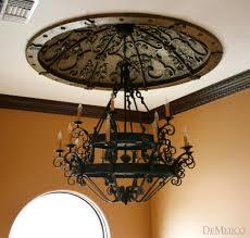 lighting mesmerizing spanish style chandelier 23 wrought iron sconces