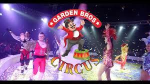 garden bros circus commercial