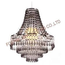 foshan jny lighting chandelier style clear acrylic chrome ceiling light shade easy fit pendant lamp