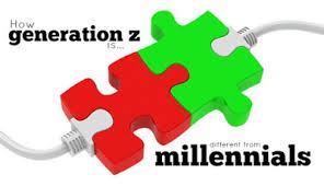 Resultado de imagen para millennials y generación z