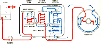remy generator wiring circuit ford alternator wiring diagram at Voltage Regulator Wiring Diagram