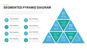 Diagram Of A Pyramid Segmented Pyramid Diagram Template For Powerpoint And Keynote