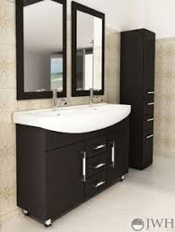 Modern double sink vanity Simple Double Our Exclusive 48 Pinterest 217 Best Modern Vanities Images In 2019 Modern Vanity Bathroom