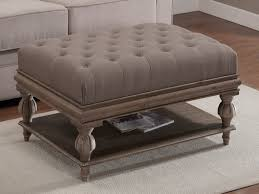 Furniture: Large Ottoman Coffee Table Lovely Large Ottoman Coffee Tables  Large Square Ottoman Extra Large