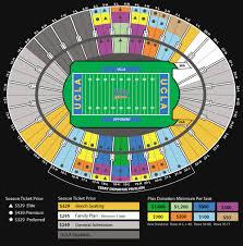 Rose Bowl Game 2018 Seating Chart The Ucla Scholarship Seating Program