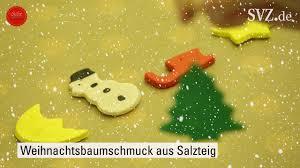 Selbst Gemacht Weihnachtsbaumschmuck Aus Salzteig