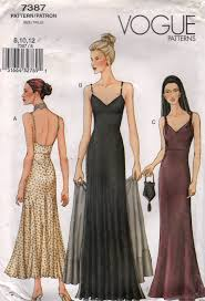 Prom Dress Sewing Patterns Cool Vogue 48 Misses EVENING DRESS And Stole Pattern Seam Interest