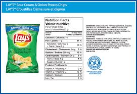 lay s sour cream onion simulated flavour potato chips ontario western canada and
