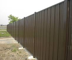 solid metal fence. Steel Privacy Fence Solid Metal U