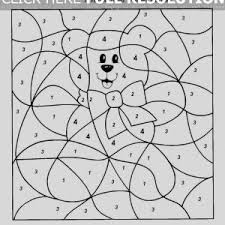 Small Picture Color By Number Coloring Pages Page For Kids Numbercoloringpages adult