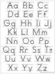 Choose Your Own Alphabet Chart Printable Alphabet Charts