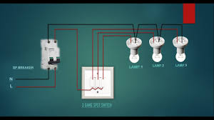 How To Wire 3 Switches To 1 Light Electrical House Wiring 3 Gang Switch Wiring Diagram