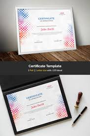 Colored Certificate Template 84110