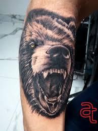 Bear Tattoo Atka Tattoo