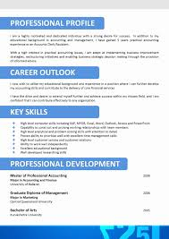 Resume Format For Accountant Freshers Beautiful Resume Format For